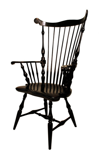 Larg Philadelphia Comb-back Chair